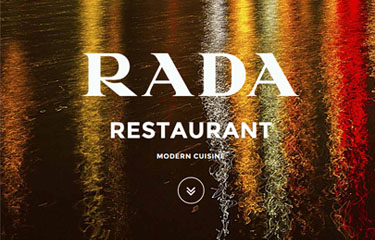 RADA Restaurant - RED Magazine