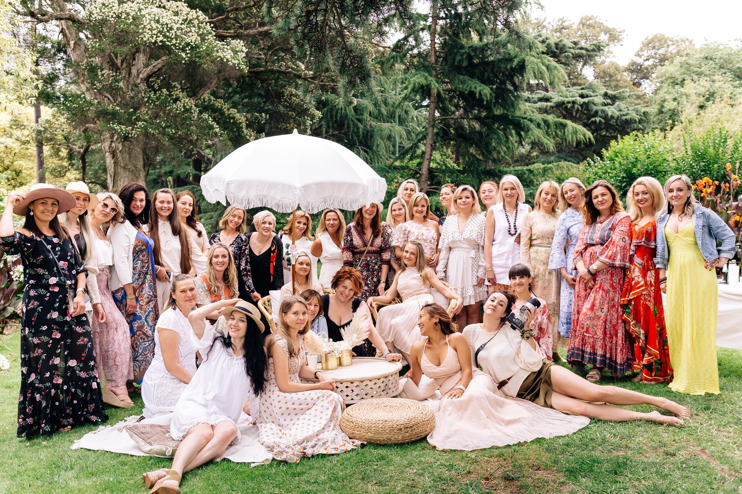 "White Russian 2020 ""Soul Sisters"" – Bohemian Garden Picnic"